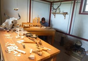 Knochenwerkstatt im Archäologischen Park Xanten