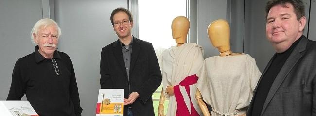 """Die """"Xantener Berichte"""" wurden vorgestellt. Foto: Heinz Kunke"""